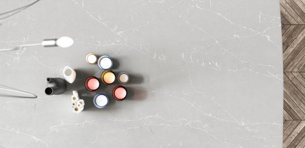 cubierta de cuarzo argento